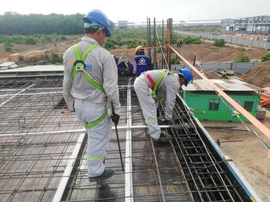 Cập nhật tiến độ tháng 7/2020 Dự án: Nhà xưởng công ty TNHH Topkey (Việt Nam)