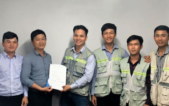 Công Ty Cổ Phần Kỹ Thuật Việt Thanh Khen thưởng BCHCT Nhà xưởng Topkey Việt Nam