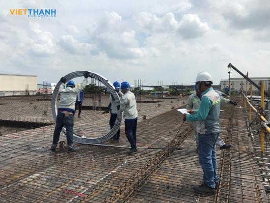 Việt Thanh thi công nhà xưởng Fullprosper