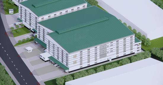 Nhà xưởng kết hợp nhà kho Lô VA.04a - KCX Tân Thuận