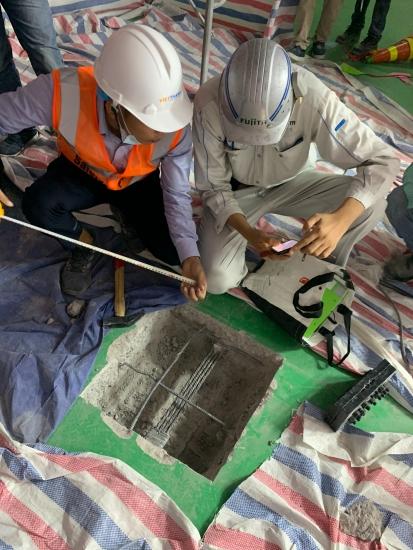 Việt Thanh thi công cáp dự án NIPRO