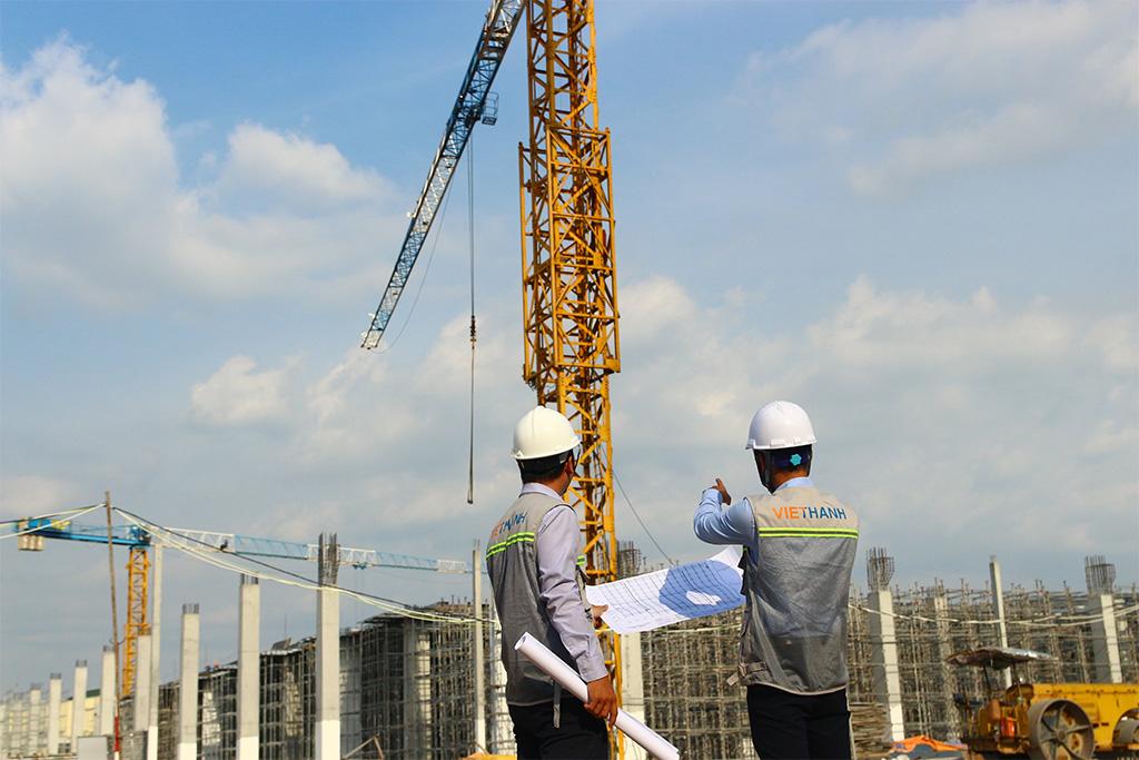 Đội ngũ nhân sự Việt Thanh đã thành công trong việc điều hành các dự án dân dụng tiêu biểu ở Tp. Hồ Chí Minh và Hà Nội